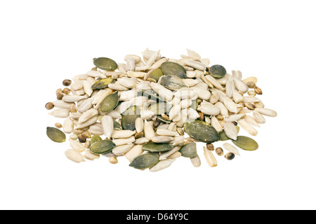 Mixed seeds. - Stock Photo
