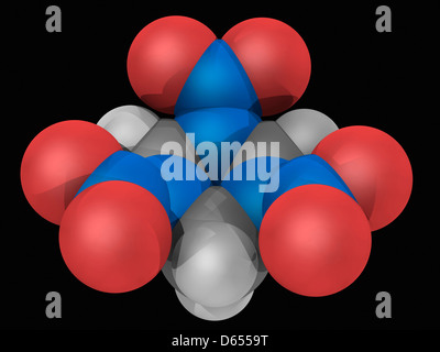 rdx explosive molecule stock photo royalty free image