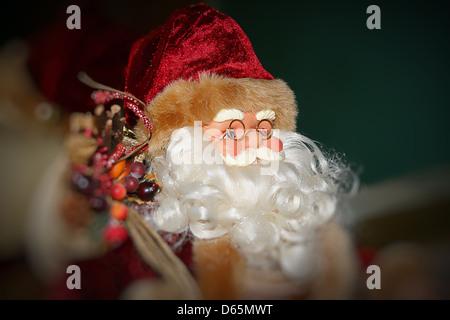 Santa Claus toy - Stock Photo
