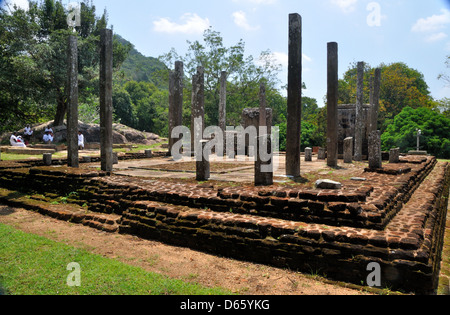Relic House, Mihintale temple complex, Sri Lanka - Stock Photo