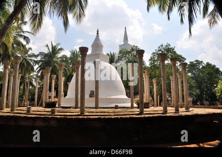 Ambasthale Dagoba, Mihintale, Sri Lanka - Stock Photo