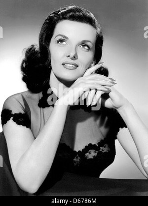 JANE RUSSELL (1921-2011) US film actress about 1945 - Stock Photo