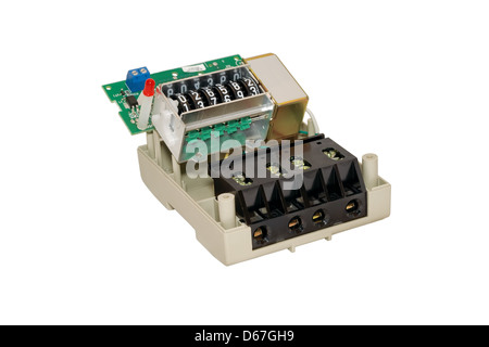 disassemble, Meter, current, electrical, energy, measure, power, utilities, watt, appliance, consumption, device, - Stock Photo