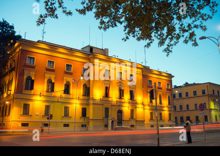 Europe, Albania, Tirana, city center - Stock Photo