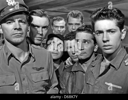 THE PURPLE HEART  1944 20th Century Fox film with Dana Andrews at left - Stock Photo