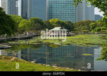 Japanese Tea, Nakajima Teahouse, Hamarikyu Gardens, Chuo, Tokyo ...