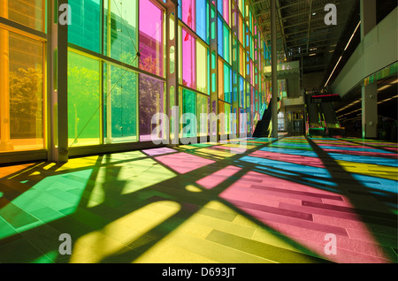 Montreal Convention Center (Palais des Congrès) - Stock Photo