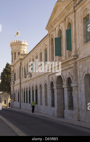 Russian Compound in Jerusalem, Israel. - Stock Photo