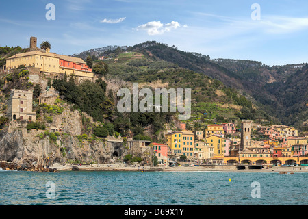 Monterosso al Mare, Cinque Terre, Liguria, Italy - Stock Photo