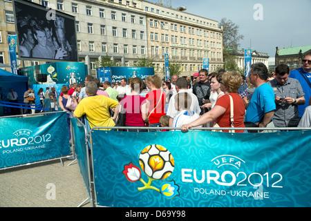 Poznan, Poland, UEFA European Championship event for - Stock Photo