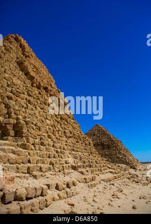 Royal Pyramids Of Napata, Nuri, Sudan - Stock Photo
