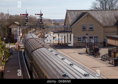 Wansford Station - Stock Photo