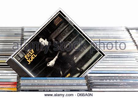 Billy Joel Album An Innocent Man, CD cases, England - Stock Photo