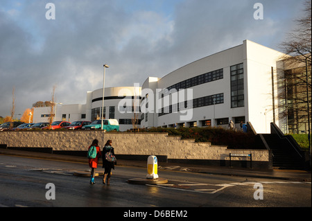 General views of Stroud College, Gloucestershire UK - Stock Photo