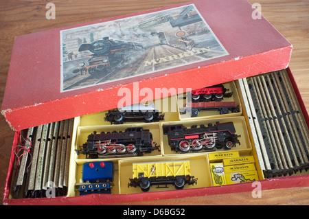 Marklin train set - Stock Photo
