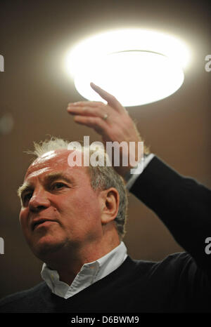(dpa FILE) - An archive picture, dated 29 November 2009, shows the former manager and new president of Bundesliga - Stock Photo