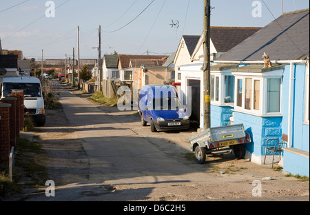 Brooklands estate Jaywick, Essex, regarded as the most socially deprived community in England. - Stock Photo