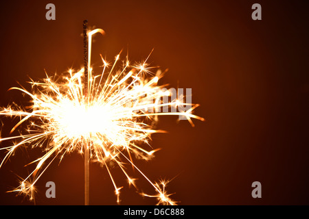 Sparkler sparks - Stock Photo