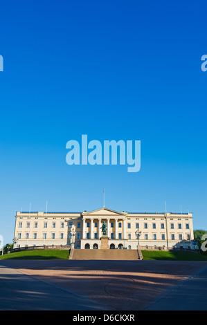 Det Kongelige Slott, Royal Palace, Oslo, Norway, Scandinavia, Europe - Stock Photo