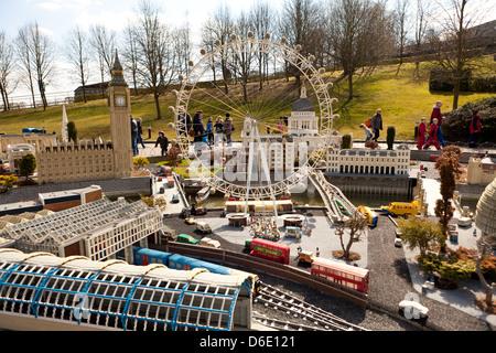 Legoland, Windsor, UK, London, Berkshire - Stock Photo