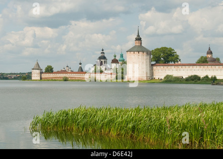 Kirillo-Belozersky Monastery, Kirillov, Russia - Stock Photo