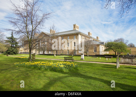 The Margaret Thatcher Infirmary at Royal Hospital Chelsea in London. - Stock Photo