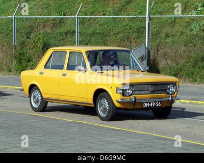 1971 Fiat 128. - Stock Photo