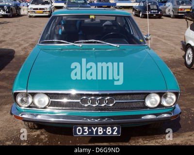 1973 Audi 100 Coupe S pic3. - Stock Photo