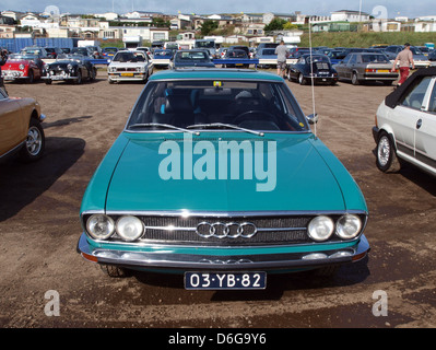 1973 Audi 100 Coupe S pic2. - Stock Photo