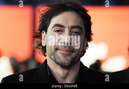 Spanish actor Javier Bardem arrives for the screening of the movie 'Sons Of The Clouds, The Last Colony' ('Hijos - Stock Photo