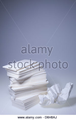 Stack tissues - Stock Photo