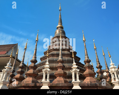 Chiang Mai Wat Pan Toa Temple Thailand - Stock Photo