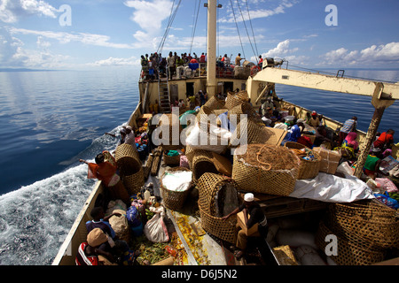 Lake Tanganyika, Tanzania, East Africa, Africa - Stock Photo