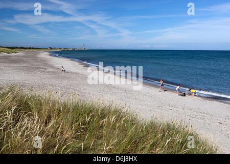 Skagen Sonderstrand beach, Skagen, Jutland, Denmark, Scandinavia, Europe - Stock Photo