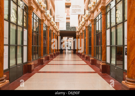 Galerie Colbert in central Paris, France, Europe - Stock Photo