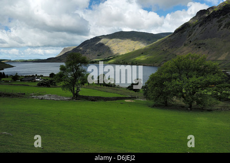 Wast Water, Wasdale, Lake District - Stock Photo