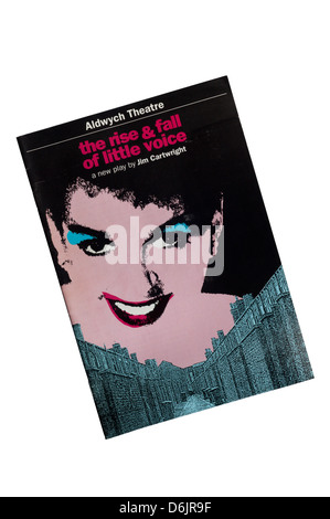 Programme for 1992 production of The Rise & Fall of Little Voice at the Aldwych Theatre, with Alison Steadman and - Stock Photo