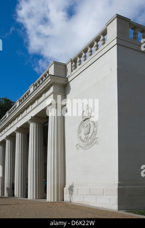 The Royal Air Force Bomber Command Memorial, Green Park, Piccadilly, London, England, United Kingdom, Europe - Stock Photo