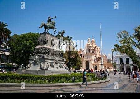 Plaza San Martin, Cordoba City, Cordoba Province, Argentina, South America, South America - Stock Photo
