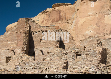 Chaco Culture National Historical Park, UNESCO World Heritage Site, New Mexico, United States of America, North - Stock Photo