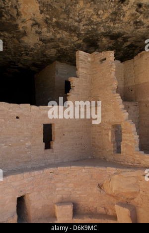 Mesa Verde National Park, UNESCO World Heritage Site, Colorado, United States of America, North America - Stock Photo