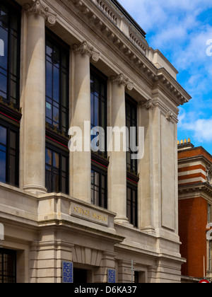 Entrance to the Science Museum in South Kensington London England UK one of the top tourist attractions in Britain - Stock Photo