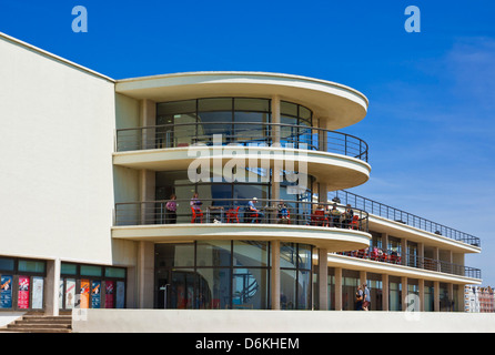the De La Warr Pavilion, Bexhill on Sea, East Sussex, England, UK, GB, EU, Europe - Stock Photo