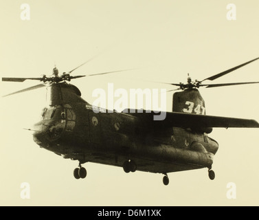 Boeing model 347 Advanced Technology Transport Helicopter NHHS Photo - Stock Photo