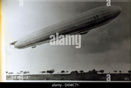 LZ-24 Zeppelin L3 - Stock Photo