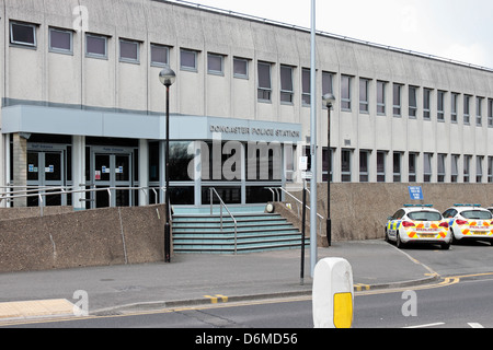 Doncaster Police Station - Stock Photo