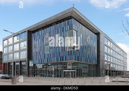New Doncaster Council Offices in Sir Nigel Gresley Square - Stock Photo