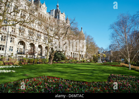 Whitehall Gardens Whitehall Westminster London UK - Stock Photo
