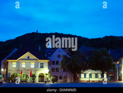 The Alte Wache old guardhouse, Freiburg, Baden-Wurttemberg, Germany, Europe - Stock Photo