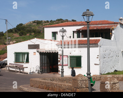 Bar El Bailadero in Teno Alto, a welcome stop for hikers in the Teno mountains in western Tenerife Canary Islands - Stock Photo